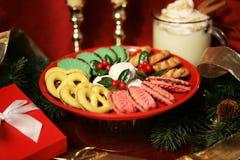 Kerstmis behandelt Stock Foto's