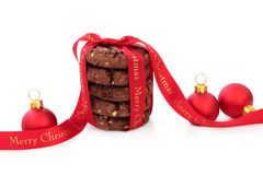 Kerstmis behandelt Stock Afbeelding