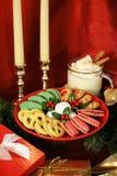 Kerstmis behandelt Verticaal Stock Fotografie