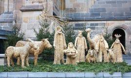 Kerstmis Bethlehem Royalty-vrije Stock Foto's