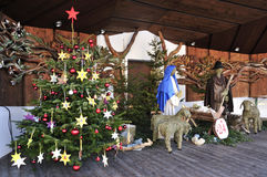 Kerstmis Bethlehem Royalty-vrije Stock Afbeeldingen
