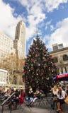 Kerstmis bij Bryant-park Royalty-vrije Stock Fotografie