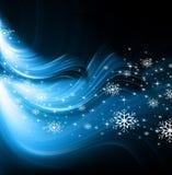 Kerstmis blauwe boom Stock Foto's