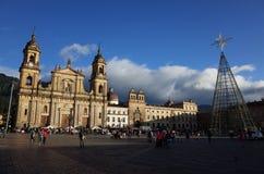 Kerstmis in Bogota Stock Afbeeldingen
