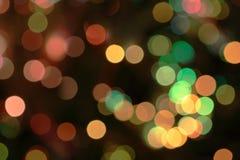 Kerstmis bokeh Royalty-vrije Stock Afbeeldingen