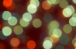Kerstmis bokeh Royalty-vrije Stock Foto