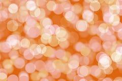 Kerstmis bokeh- lichte achtergrond Stock Afbeelding