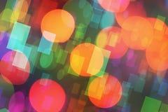 Kerstmis bokeh- lichte achtergrond Stock Foto's