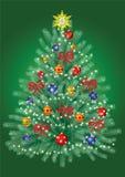 Kerstmis boom Royalty-vrije Stock Foto's