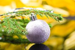 Kerstmis-boom ballen. Royalty-vrije Stock Fotografie