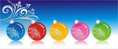 Kerstmis-boom decoratie Royalty-vrije Stock Afbeelding