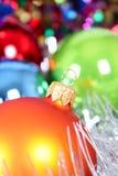 Kerstmis-boom decoratie royalty-vrije stock foto