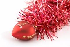 Kerstmis-boom decoratie Stock Afbeelding