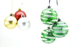 Kerstmis-boom decoratie Stock Foto's