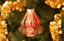 Kerstmis-boom decoratie Stock Afbeeldingen