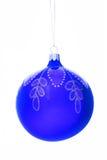 Kerstmis-boom decoratiebal Royalty-vrije Stock Afbeeldingen