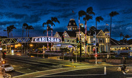 Kerstmis in Carlsbad Royalty-vrije Stock Fotografie