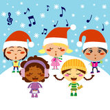 Kerstmis Carol Stock Foto