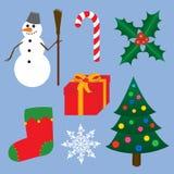 Kerstmis clipart Royalty-vrije Stock Foto