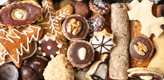 Kerstmis cokies Royalty-vrije Stock Afbeeldingen