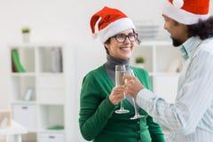 Kerstmis congrats Stock Afbeelding