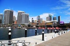 Kerstmis @ Darling Harbour Sydney Australia stock afbeelding