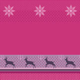 Kerstmis, de Achtergrond van de de wintervakantie, Vector Royalty-vrije Stock Foto