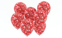 Kerstmis - de ballons van de Sneeuw Royalty-vrije Stock Fotografie