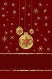 Kerstmis, de decoratie van het Nieuwjaar Stock Foto