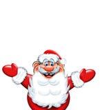 Kerstmis de Kerstman Royalty-vrije Stock Afbeelding