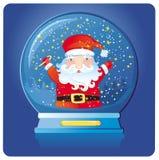 Kerstmis de Kerstman Stock Foto