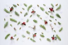 Kerstmis of de nieuwe achtergrond van de jaarvakantie Royalty-vrije Stock Foto