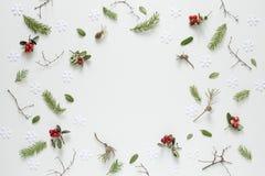 Kerstmis of de nieuwe achtergrond van de jaarvakantie Stock Foto's