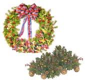 Kerstmis/de Winter 5 Stock Afbeelding
