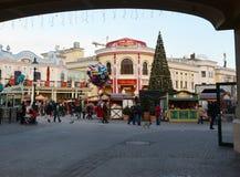 Kerstmis in Dec van Wenen Royalty-vrije Stock Afbeeldingen