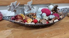 Kerstmis Deco stock afbeeldingen