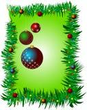 Kerstmis decoratieve abstracte achtergrond met ruimte voor uw tekst Royalty-vrije Stock Afbeeldingen