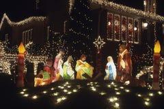 Kerstmis Decoration.Jesus. Stock Afbeeldingen