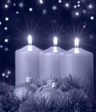 Kerstmis die blauwe toon gelijk maakt Royalty-vrije Stock Afbeelding