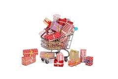 Kerstmis die, idee voor uw ontwerp winkelt Royalty-vrije Stock Afbeelding