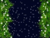 Kerstmis en de Gelukkige achtergrond van het Nieuwjaar Stock Foto's