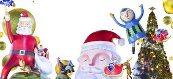 Kerstmis en gelukkig nieuw jaar stock foto's