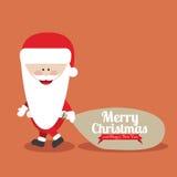 Kerstmis en gelukkig nieuw jaar Stock Afbeeldingen