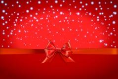 Kerstmis en Gelukkige Nieuwjaarachtergrond Stock Afbeeldingen