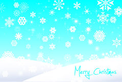 Kerstmis en Gelukkige Nieuwjaarachtergrond Royalty-vrije Stock Foto