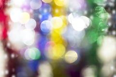 Kerstmis en Gelukkige Nieuwjaarachtergrond, Feestelijke samenvatting backgr Stock Afbeeldingen