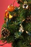 Kerstmis en het Nieuwe Ornament van de Vooravond Year - Decoratie Royalty-vrije Stock Afbeelding