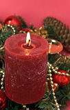 Kerstmis en het Nieuwe Ornament van de Vooravond Year - Decoratie Stock Foto's
