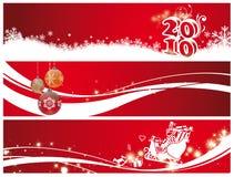 Kerstmis en nieuw jaar Royalty-vrije Stock Afbeelding