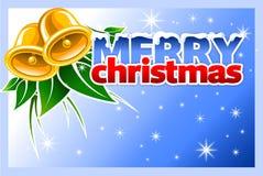 Kerstmis en nieuwe jaarkaart Royalty-vrije Stock Foto